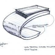 croqui do projeto suporte concha