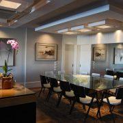 Iluminação sala de jantar